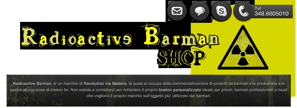RADIOACTIVE BARMAN SHOP